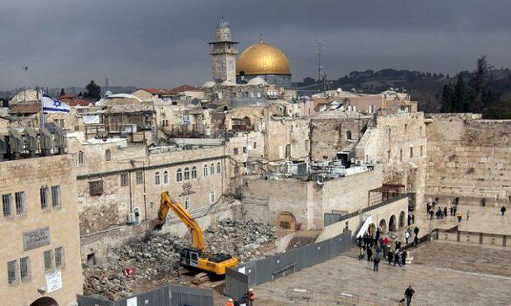 الهدمي: سياسة الهدم بالمدينة المقدسة هدفها تغير الوضع الديموغرافي