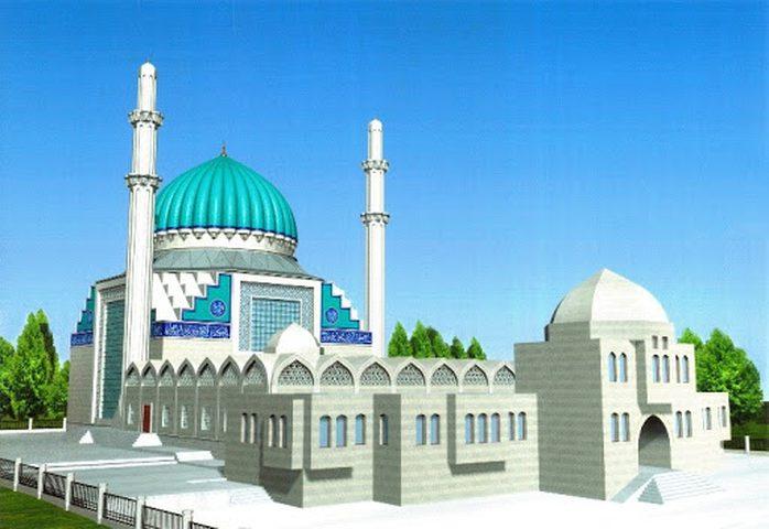شاهد أول مسجد صديق للبيئة في كازاخستان