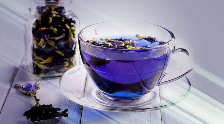 اكتشفوا الفوائد المذهلة لمشروب الشاي الأزرق