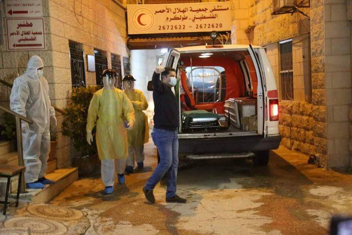 طولكرم: وفاة مواطن وإصابة 30 آخرين بفيروس كورونا