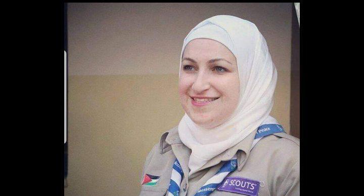 مي عبدالهادي خريجة جامعة النجاح تنطلق للعالمية في الكشافة