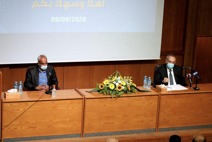 """جامعة النجاح الوطنية تعقد مؤتمراً صحفياً بعنوان """"إنجازات وتحديات"""""""