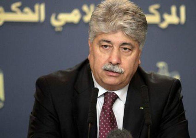 مجدلاني:أعددنا خطة استجابة خاصة بغزة بقيمة 39 مليون دولار