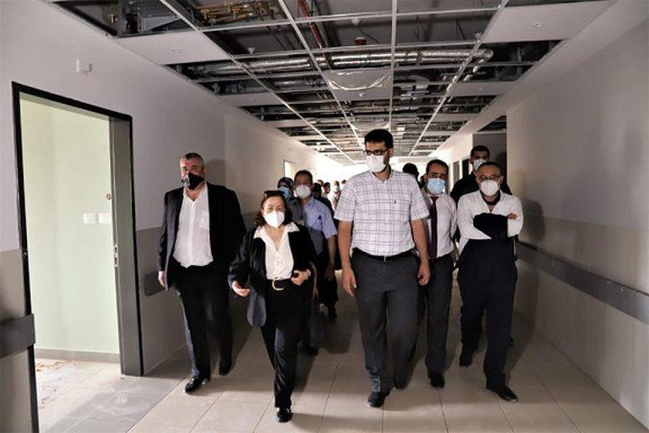 مستشار وزيرة الصحة: تم معرفة جميع بؤر انتشار الفيروس في قطاع غزة