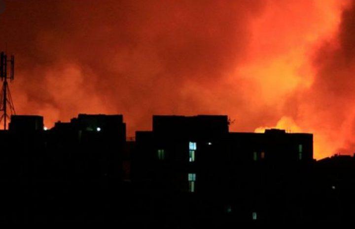 السودان: انفجار ضخم يهز معسكرا للجيش شمالي الخرطوم