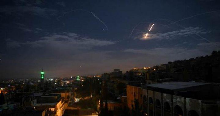 سوريا: قصف إسرائيلي على مدينة حلب والدفاعات الجوية تتصدى