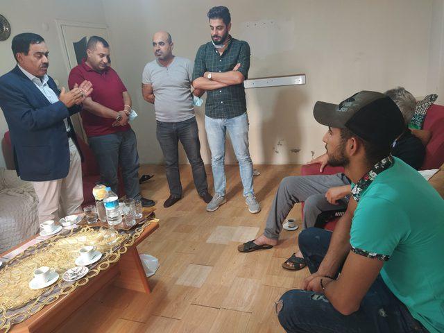 أمين سر حركة فتح في إسطنبول يتفقد أبناء الجالية الفلسطينية