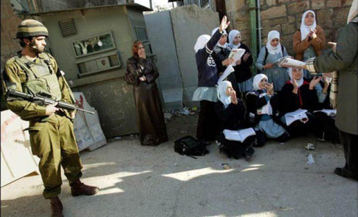 منصور: مدارس فلسطين تتعرض لاعتداء إسرائيلي متواصل