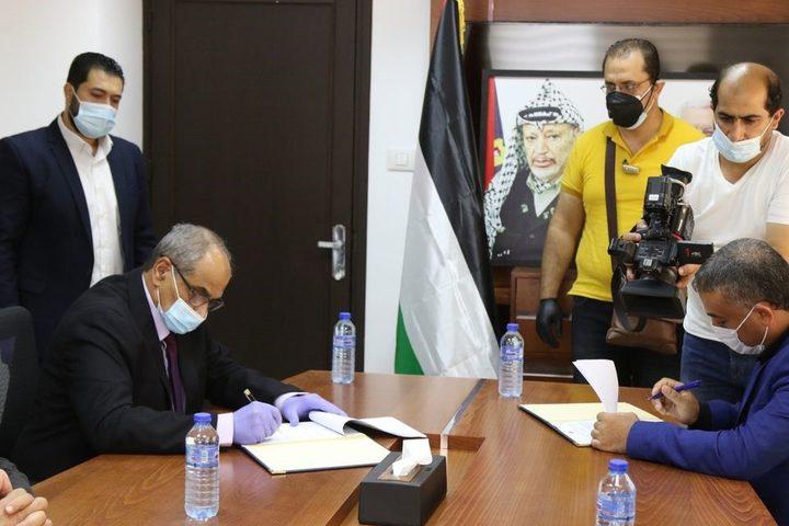توقيع عقد إعادة بناء البرج الإيطالي في مدينة غزة بـ3 مليون يورو