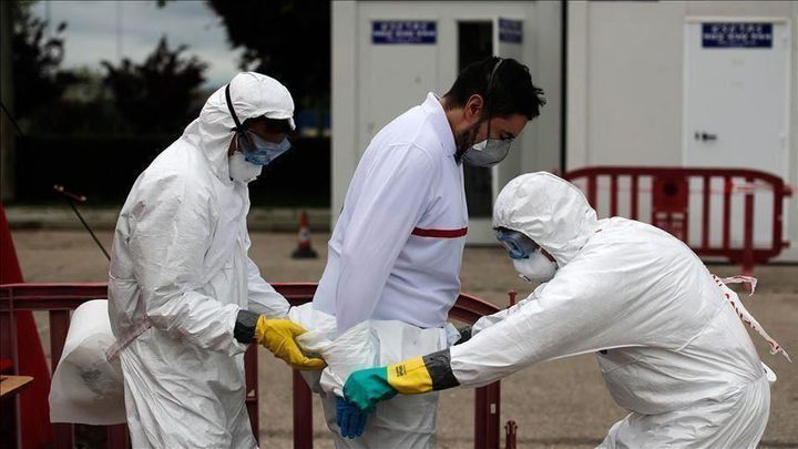 حالتا وفاة و100 اصابة جديدة بفيروس كورونا في قطاع غزة