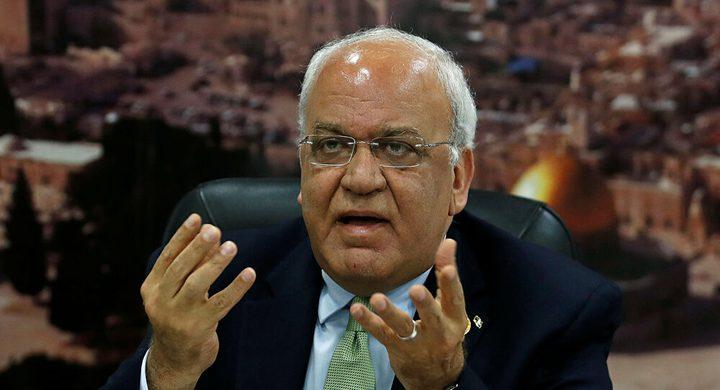 عريقات: هناك استهداف للقيادة الفلسطينية وتوجيه اتهامات بحقها