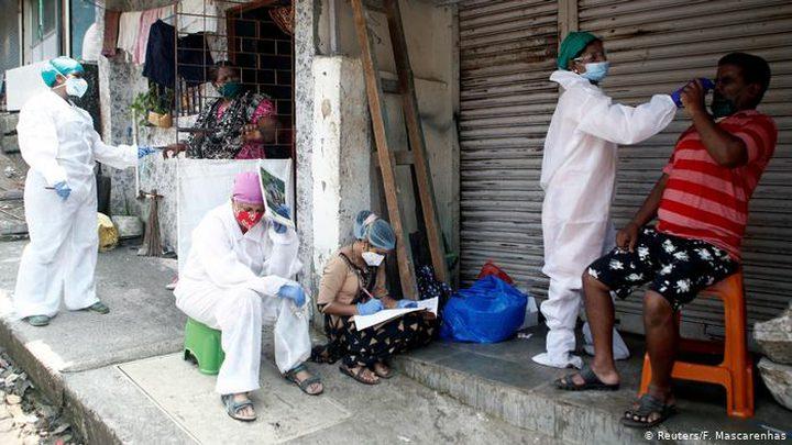 الهند: اكثر من 1100 حالة وفاة و92,071 إصابة جديدة بفيروس كورونا