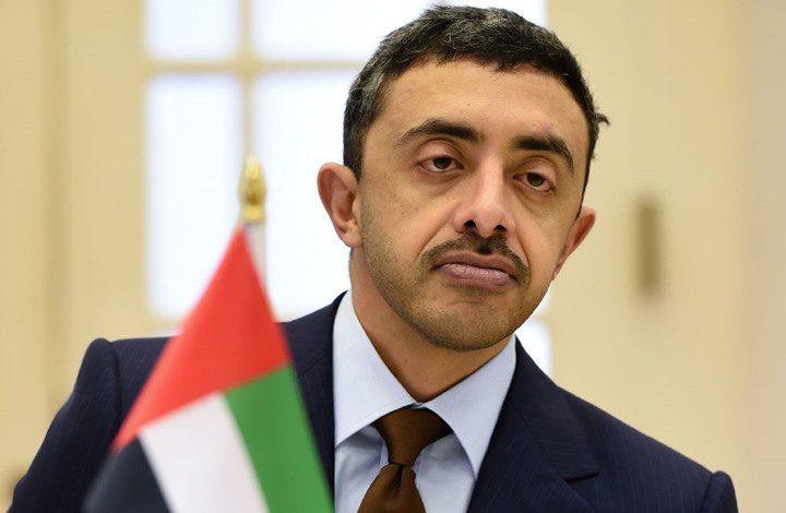 عبدالله بن زايد يصل واشنطن لتوقيع الاتفاق مع الاحتلال