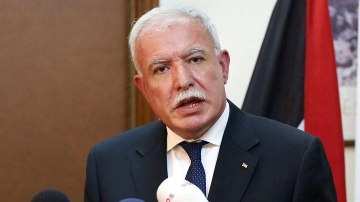 المالكي يؤكد رفض الحكومة الفلسطينية استلام أموال المقاصة