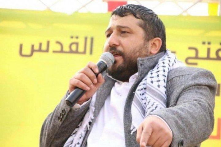 سلطات الاحتلال تفرج عن أمين سر حركة فتح وزوجته