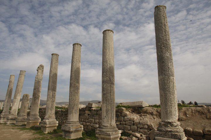 سبسطية .. كنز فلسطين الأثري