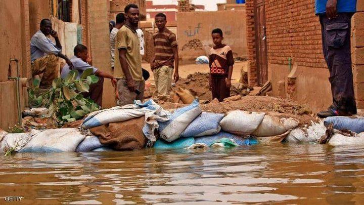 تضرر أكثر من 650 الف شخص نتيجة فيضانات السودان