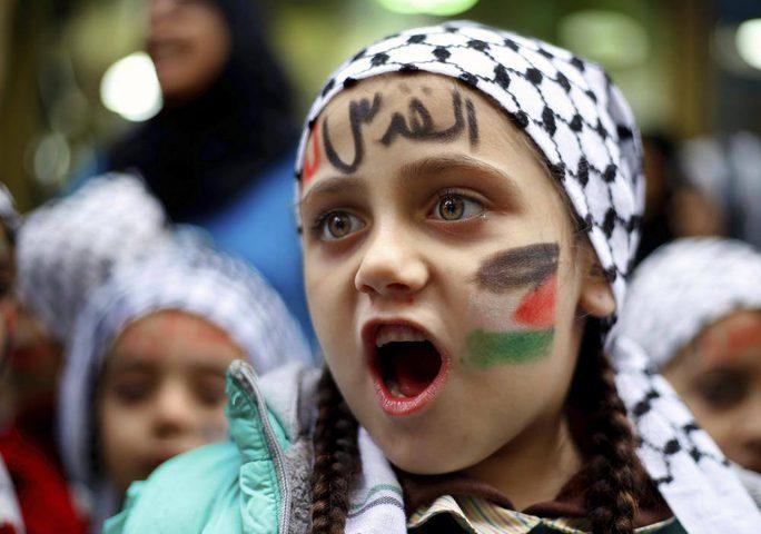 فلسطين تعلن الغضب في وجه المؤامرة