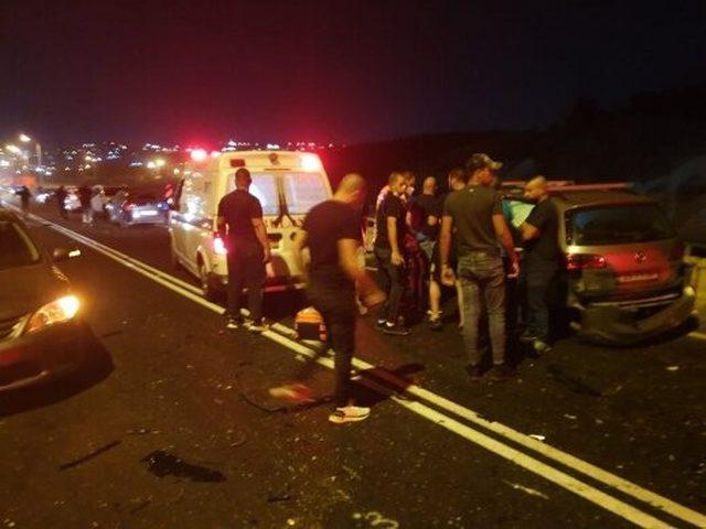 مصرع رجل وإصابة 5 أشخاص بحادث طرق قرب بلدة عيلوط