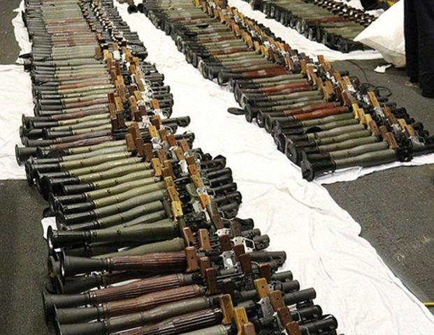 ضبط كمية كبيرة من الاسلحة التركية بولاية القضارف في السودان