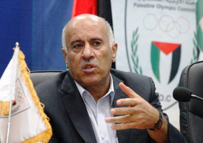 هنية يهاتف الرجوب مهنئا بإعادة انتخابه رئيسا لاتحاد كرة القدم