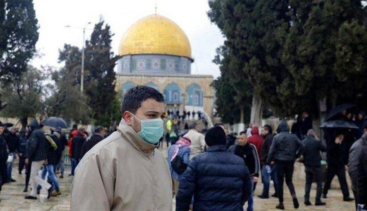 تعليق الصلاة في المسجد الأقصى 3 أسابيع بسبب كورونا
