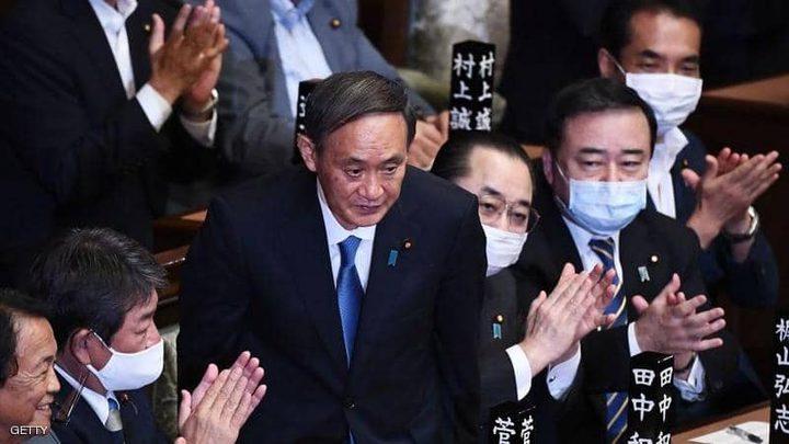 يوشيهيدي سوغا رئيسا للوزراء في حكومة اليابان الجديدة