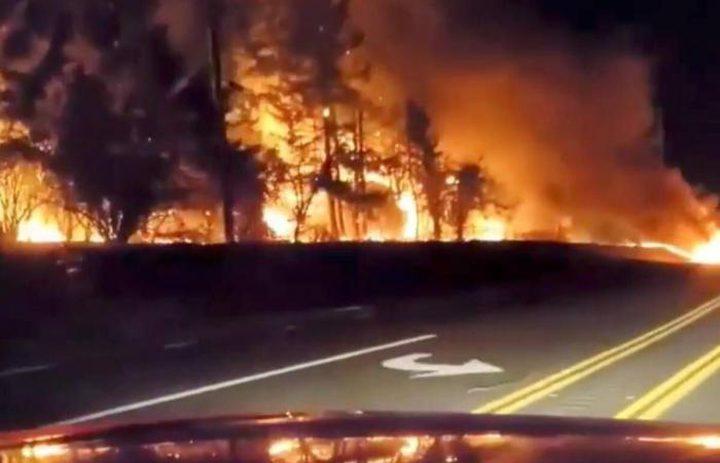 بسبب الحرائق المستمرة... ترامبيعلن ولاية أوريغون منطقة كوارث