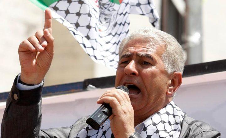 """عباس زكي: نحن من نقرر مستقبل شعبنا """"دون لف ودوران"""""""