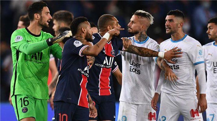 لجنة فرنسية تعلن عدد من العقوبات على لاعبي مباراة الكلاسكيو