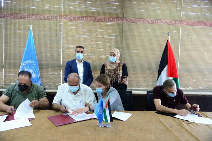 الأونروا توقع اتفاقية مع اللجان الشعبية لإنشاء مراكز للعزل الصحي
