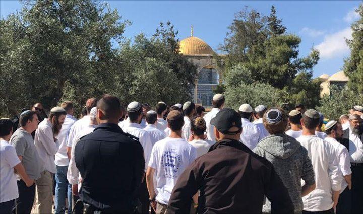 الاحتلال يوظف الأعياد اليهودية لتعزيز اقتحامات المسجد الأقصى