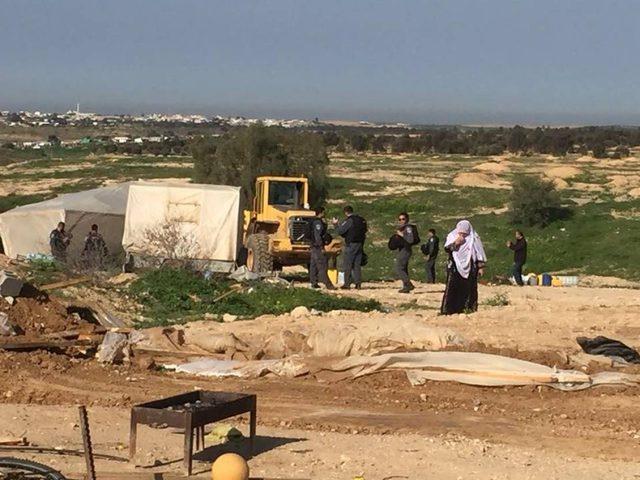 الاحتلال يهدم قرية العراقيب للمرة 178