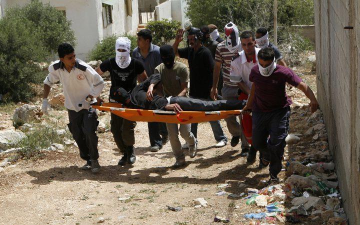 أربع اصابات برصاص الاحتلال والعشرات بالاختناق في كفر قدوم