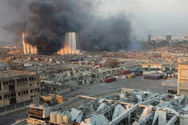 الجيش اللبناني يعلن اكتشاف 1.3 طن من الألعاب النارية في بيروت