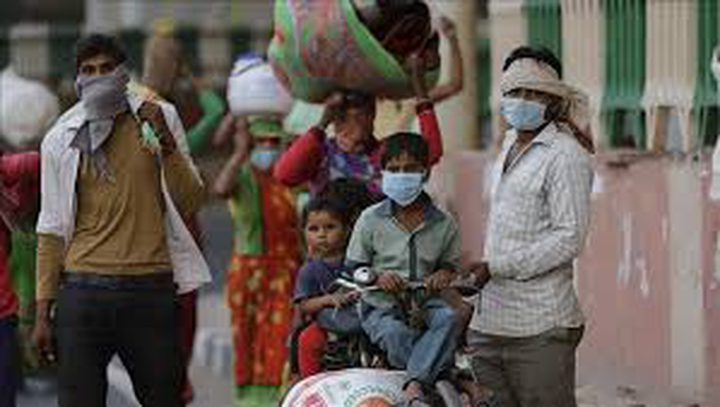 الصحة الهندية تعلن 5.4 مليون إصابة بفيروس كورونا