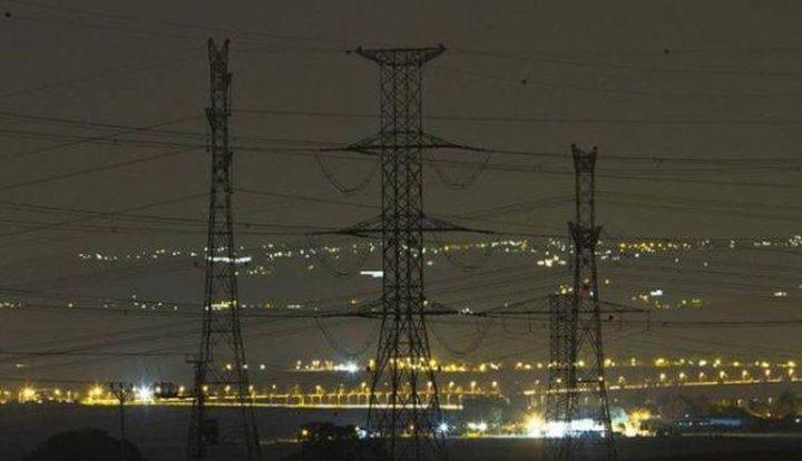 قطع التيار الكهربائي عن المنطقة الغربية من مدينة نابلس مساء اليوم