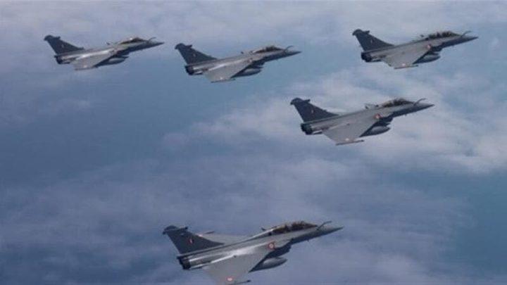الهند تختبر مقاتلات رافال الفرنسية الجديدة قرب الحدود الصينية