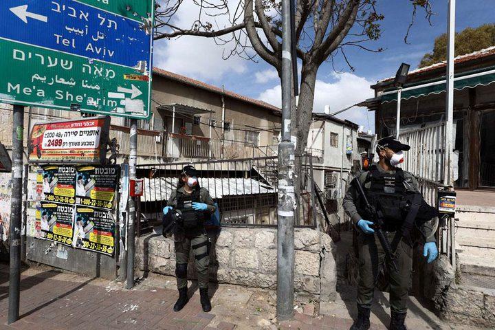 حكومة الاحتلال تتجه نحو تشديد إجراءات الاغلاق لمواجهة كورونا