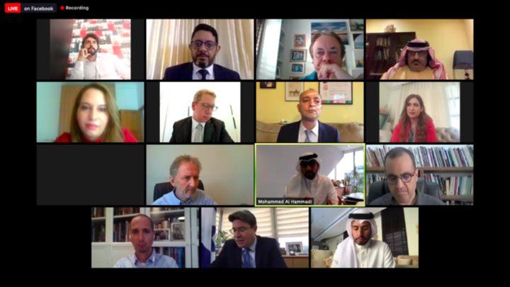 """نقابة الصحفيين تدين لقاء تطبيعي جمع صحفيين عرب مع وزير """"إسرائيلي"""""""