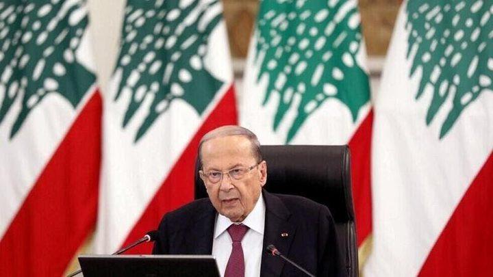 """ميشال عون يحذر اللبنانيين.. """"رايحين عجهنم"""" !"""