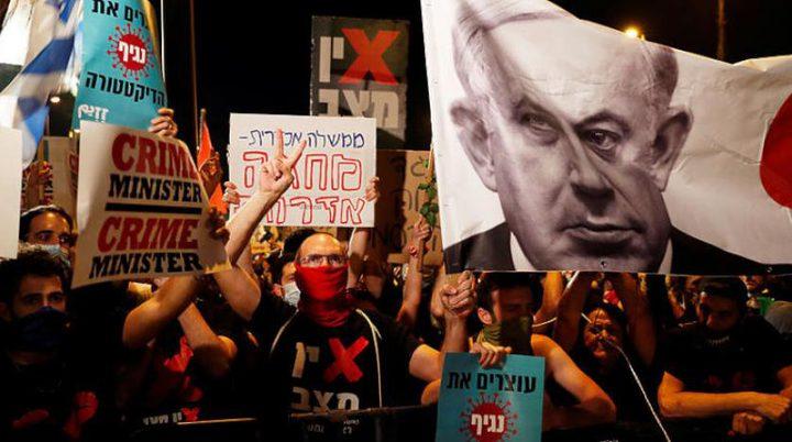نتنياهو يستغل كورونا لقمع المظاهرات المطالبة برحيله