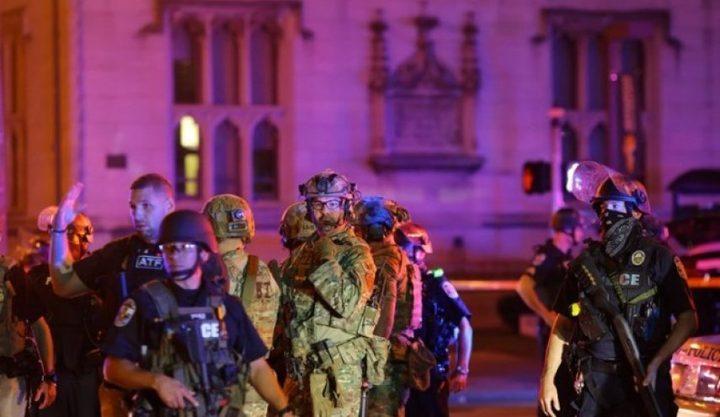 إصابة شرطيين في مظاهرات ضد العنصرية بولاية كنتاكي الأمريكية