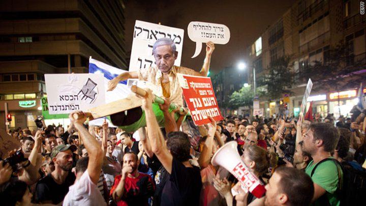 حكومة الاحتلال تصادق على الإغلاق دون منع المظاهرات ضد نتنياهو