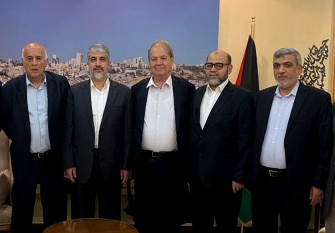 حمايل لـ النجاح: وفد فتح في القاهرة لبحث نتائج الحوار مع حماس