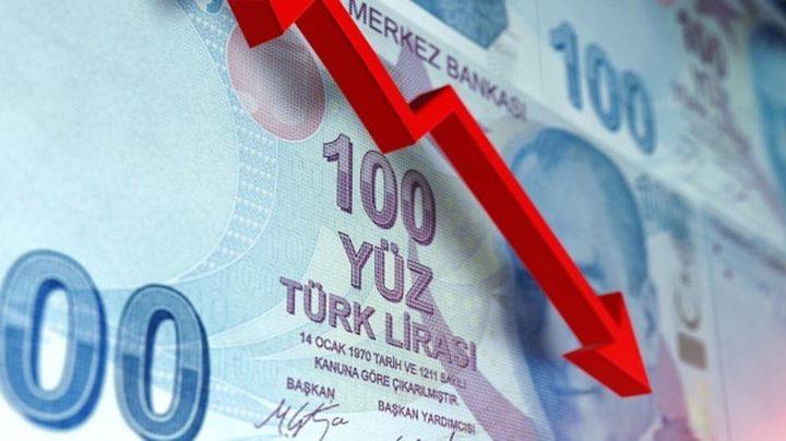 هبوط الليرة التركية في ظل التوترات الجيوسياسية