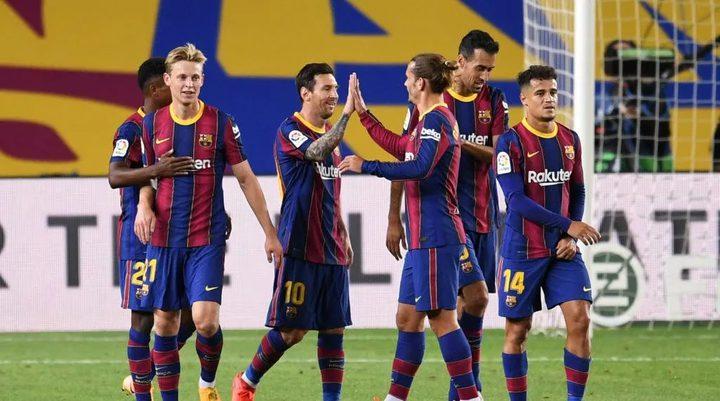 برشلونة يكتسح فياريال برباعية نظيفة في الدوري الإسباني