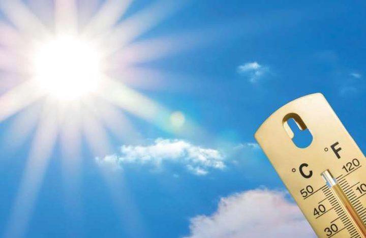 الطقس: أجواء شديدة الحرارة