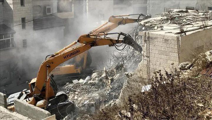 """الأمم المتحدة: """"إسرائيل"""" هدمت أكثر من 500 مبنى منذ بداية العام"""