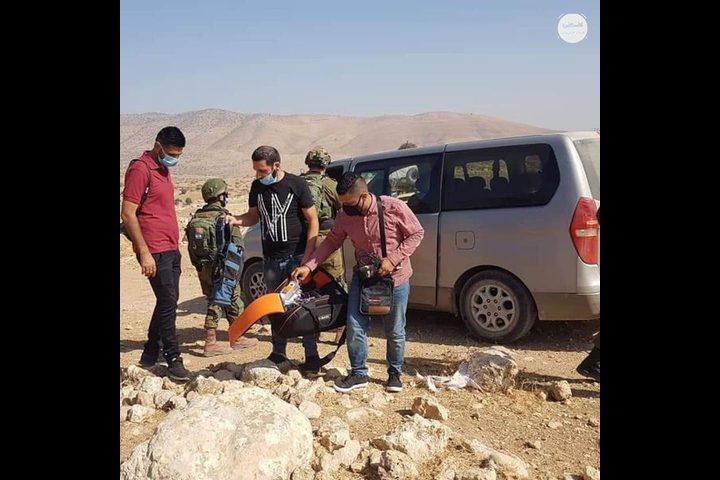 نقابة الصحفيين تدين استيلاء الاحتلال على سيارة فضائية فلسطين